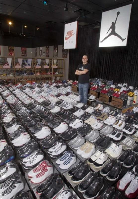 La più grande collezione al mondo di scarpe da ginnastica 83a5d943eb3