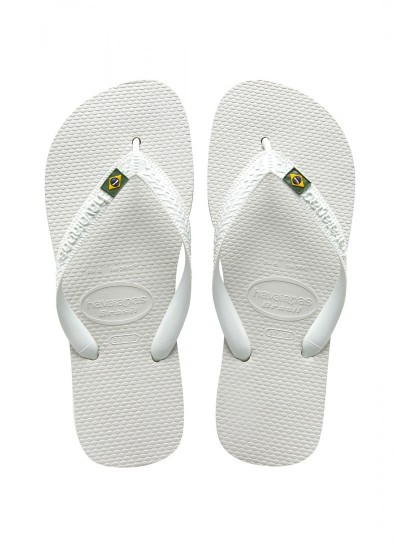 HAVAIANAS Brasil - Infradito - 0001 white