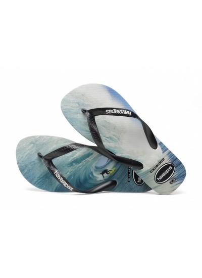 HAVAIANAS 4134832 Top Photo Print - Infradito - 3983 BLACK SURF