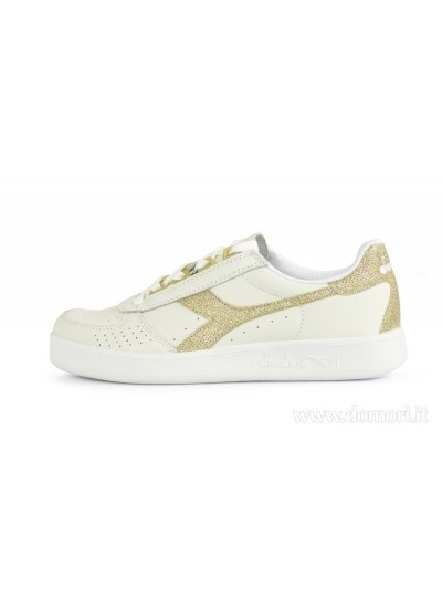 DIADORA 501.173135 01 - Sneaker Bassa - Bianco Oro
