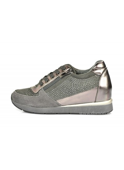 CALZAMANIA 1754 CROSTA - Sneaker Bassa - Grigio