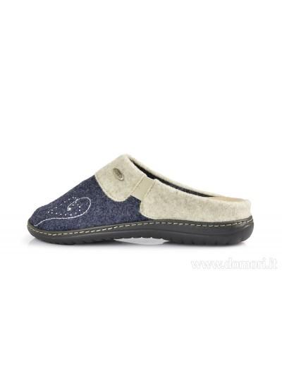 RIPOSELLA 9403 - Pantofola e ciabatta - Blue