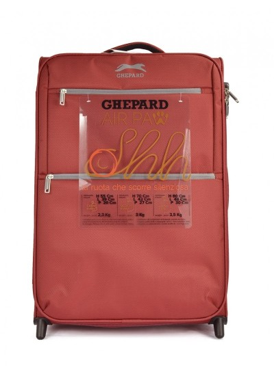 GHEPARD Start - Valigia semirigida - Red
