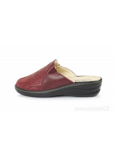 TIGLIO 2755 Piedi in Forma - Pantofola e ciabatta - Bordò