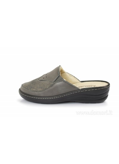 TIGLIO 2755 Piedi in Forma - Pantofola e ciabatta - Grigio