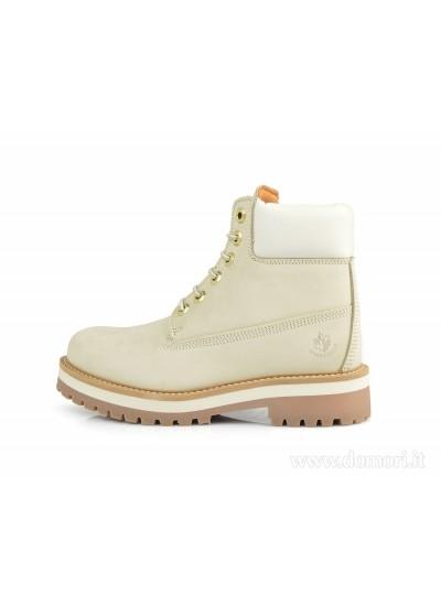 LUMBERJACK SW50501-001 D01 - Scarponcino - Cream White