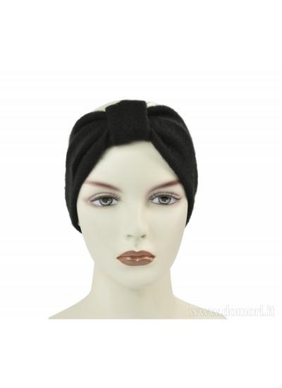 PELLETTERIE 3 Fascia capelli - Nero