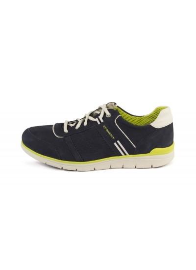 STONEFLY Sneaker bassa - Navy Bianco