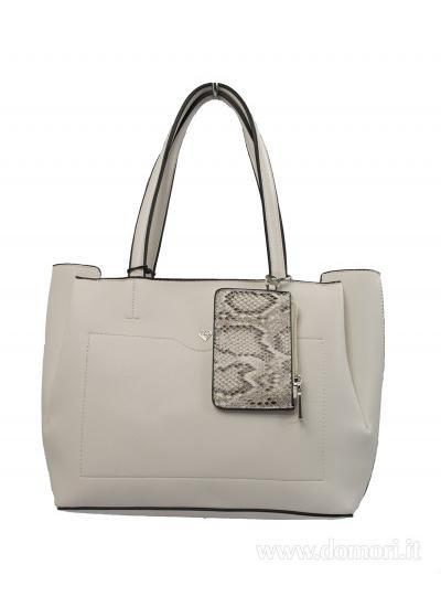 CALEIDOS-Shopper donna-Bianco-CA20S034-01
