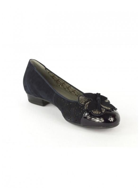 ARA Ballerina classica Blu Domori: scarpe, moda e accessori