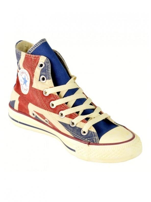 CONVERSE ALL STAR HI GRAPHICS - Sneaker alta - Bandiera inglese