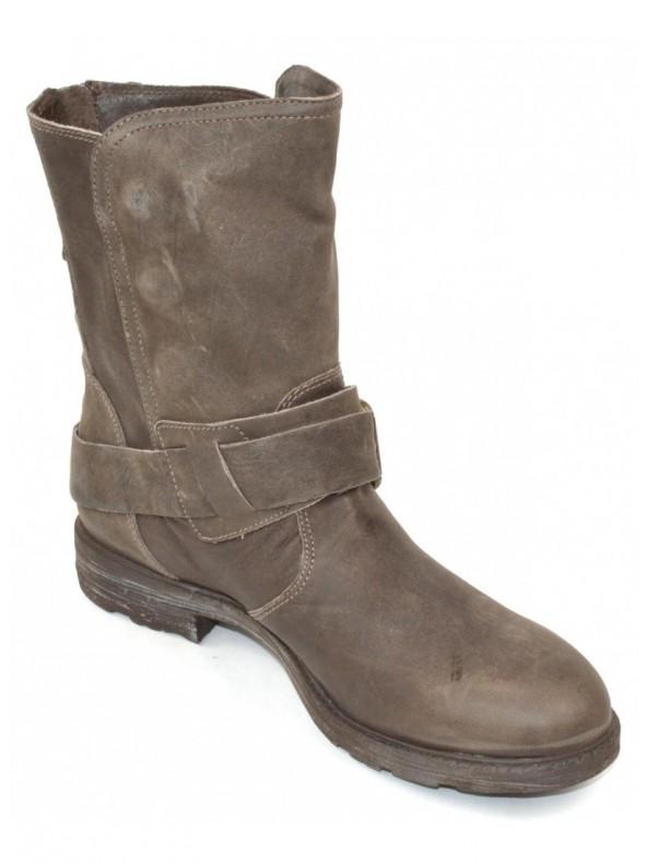 Stivale donna nero Giardini Marrone Domori: scarpe, moda e