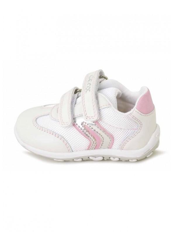 Geox Primipassi C0406 DomoriScarpeModa White E Bubble Pink WI92EDH