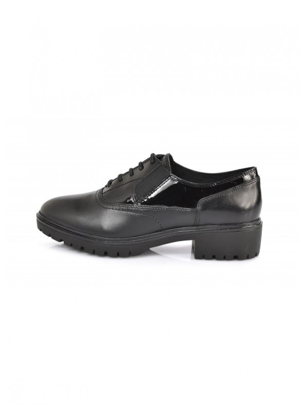 GEOX PEACEFUL Stringata C9999 BLACK Domori: scarpe