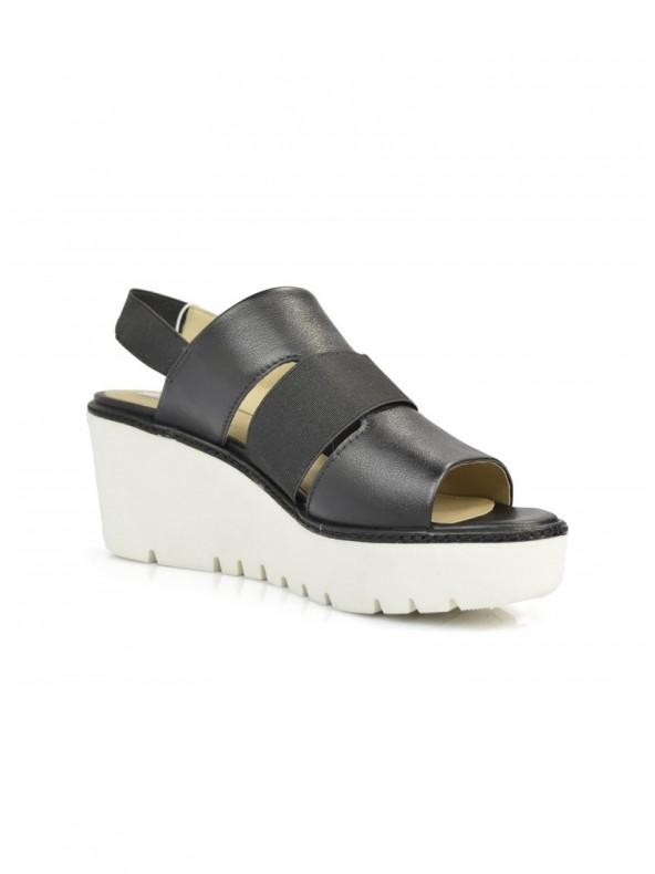 Sandalo donna Geox Domezia Black Domori: scarpe, moda e