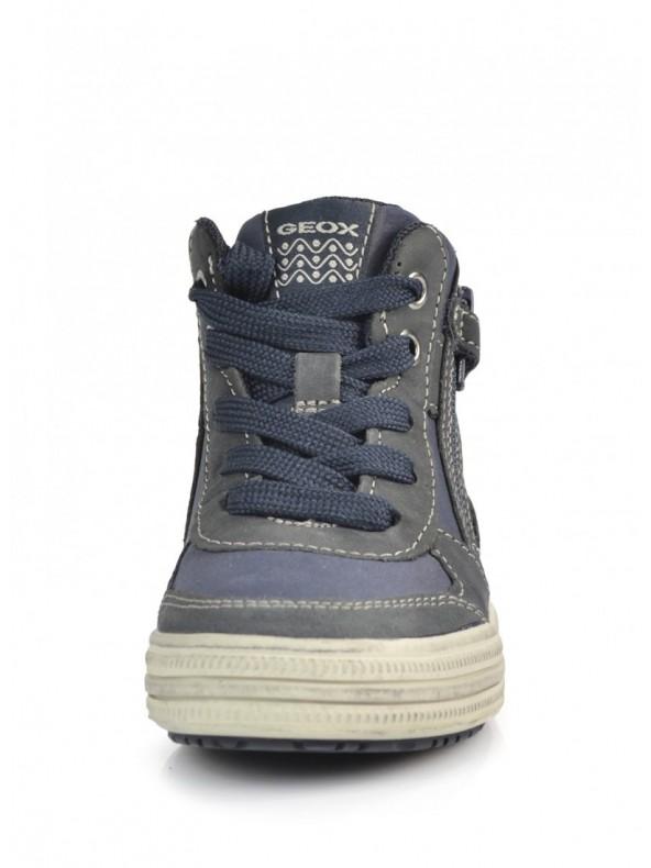 GEOX Elvis Sneaker alta C0661 NAVYGREY Domori: scarpe