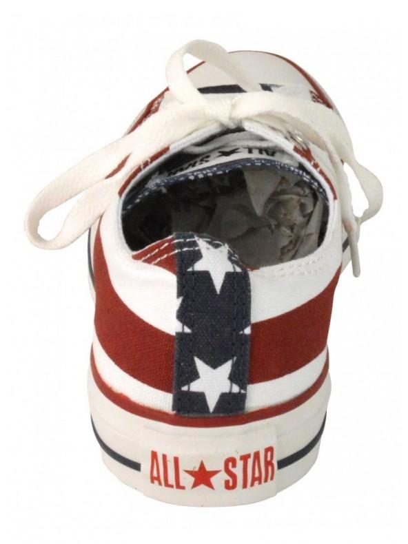 CONVERSE All star ox - Sneaker bassa - Stelle e strisce