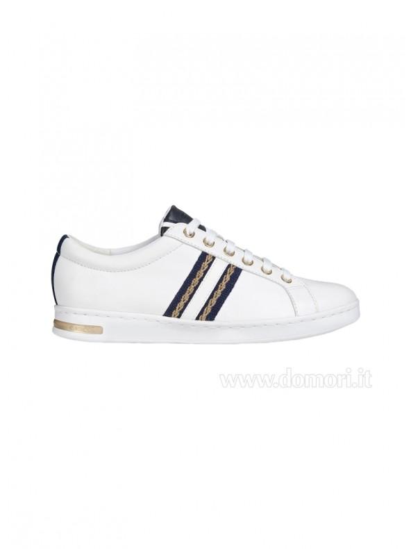 Sneaker Geox da donna Jaysen White Domori: scarpe, moda e